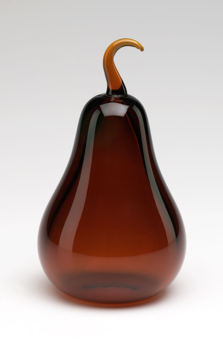 Cyan Design- Amber Glass Pear